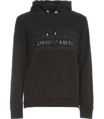 balmain printed & foil hoodie