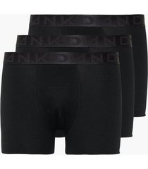 frank dandy 3 pack legend organic boxer boxershorts black