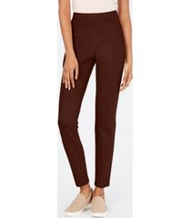 style & co curvy seamed ponte-knit leggings, created for macy's