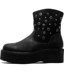 botin tash black mermaid chancleta