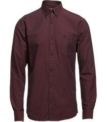 collect shirt ls r noos h skjorta business röd selected homme
