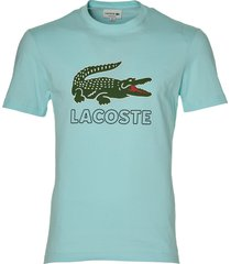 lacoste t-shirt - slim fit - turquoise