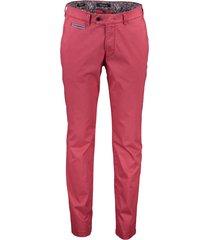 gardeur broek benny-3 modern fit rood