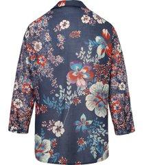 blouse 100% katoen 3/4-mouwen van mayfair by peter hahn multicolour