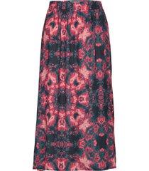 gimma knälång kjol multi/mönstrad moves