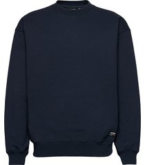 dario sweater sweat-shirt tröja blå dr. denim