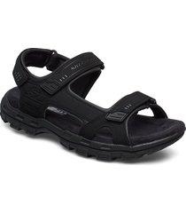 mens relaxed fit conner - garver louden shoes summer shoes sandals svart skechers