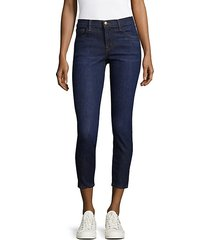 825 mid-rise crop jeans