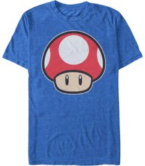 nintendo men's super mario mushroom short sleeve t-shirt