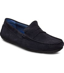 georges loafers låga skor blå playboy footwear
