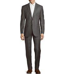 classic-fit fine wool suit