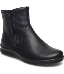 babett boot shoes boots ankle boots ankle boots flat heel svart ecco
