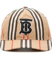 burberry stripe baseball cap