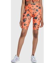 legging desigual legging street naranjo - calce ajustado
