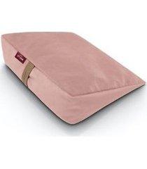 wellb poduszka z gryką na krzesło -polarny róż