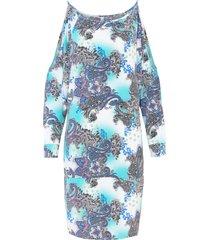 abito con cut-out (blu) - bodyflirt boutique