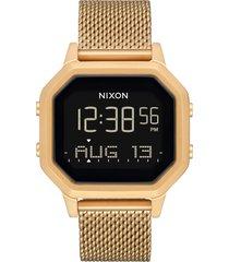 women's nixon siren digital bracelet watch, 36mm