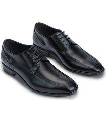 zapato formal con cordones y cuero grabado 94003