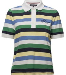carpa stp polo t-shirts & tops polos multi/mönstrad tommy hilfiger