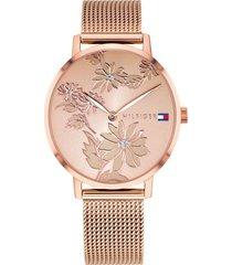 reloj tommy hilfiger 1781922 rosa acero inoxidable