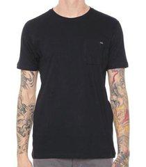 camiseta rvca basic pocket