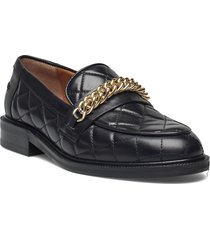 shoes a1217 loafers låga skor svart billi bi