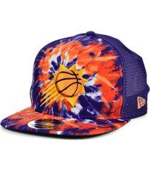 new era phoenix suns tie dye mesh back cap