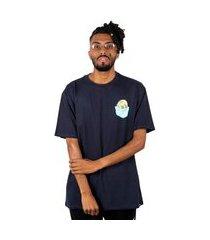 camiseta básica blunt ice - marinho camiseta básica blunt ice - p