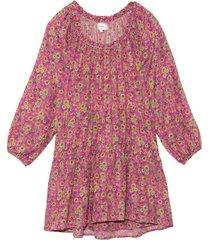 dalyn dress in pink amethyst