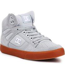skateschoenen dc shoes dc pure high-top wc adys400043-2gg