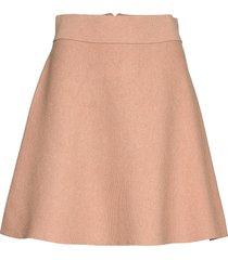 pauline knit skirt kort kjol rosa morris lady