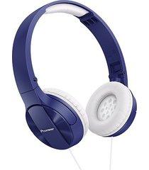 audífonos diadema pioneer mj503 azul