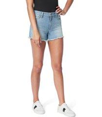 women's joe's the ozzie cutoff denim shorts, size 23 - blue