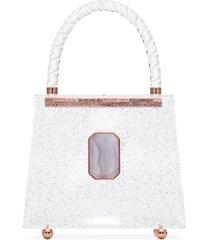 sophia webster bolsa tote patti - branco