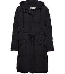 gurliiw parka coat parka lange jas jas zwart inwear