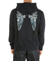 marcelo burlon hoodie sweatshirt sweat heart wings