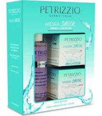 estuche agua micelar  tratamiento hidrashock petrizzio