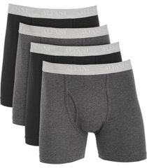 alfani men's 4-pk. boxer briefs, created for macy's