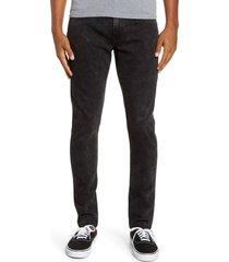 men's paige transcend croft skinny fit jeans, size 30 - black