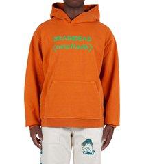 new flesh hoodie - orange