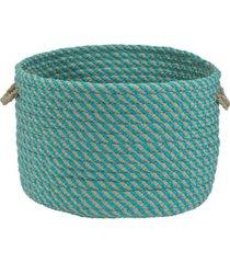 colonial mills cabana braided storage basket