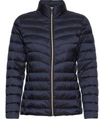jackets outdoor woven kviltad jacka blå esprit collection