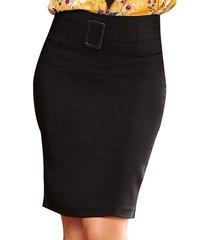 falda vero negro para mujer croydon