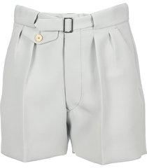 martin margiela cotton bermuda shorts