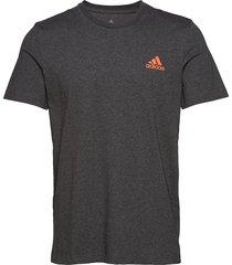 paris graph tee t-shirts short-sleeved grå adidas tennis