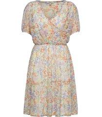 dresses knitted kort klänning vit esprit casual