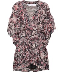 piata blouses short-sleeved roze iro