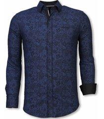 overhemd lange mouw tony backer blouse paisley pattern