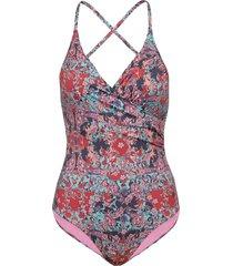 artsy swimsuit badpak badkleding multi/patroon odd molly underwear & swimwear