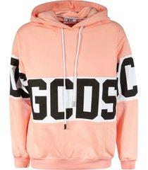 gcds mid logo hoodie